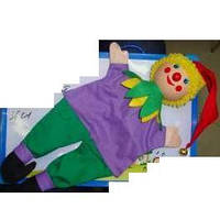 "Деревян. марионетка (144шт)""Клоун"" 36см(2011-115)"