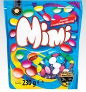 Драже с молочным шоколадом Mimi,230 гр