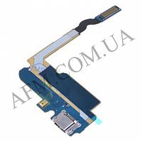 Шлейф (Flat cable) Samsung i9200 Galaxy Mega 6.3/  i9205 с разъемом зарядки,   микрофоном