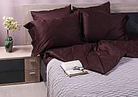 Постельное белье Marca Marco Milano Dark Brown Двухспальный комплект Темно-коричневый