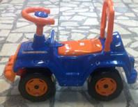 Машинка для катания 4*4, синяя, в пак. 60*30см, ТМ Орион, Украина (1шт)(549СИН)