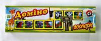 """Доміно """"Зоопарк"""", в кор. 22*6*4см, ТМ Технок, Україна (30 шт.)(3305)"""