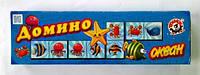 """Доміно """"Океан Технок"""", в кор. 22*6*4см, ТМ Технок, Україна (30 шт.)(3299)"""