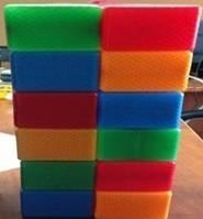 Кубик цветной, 20 дет., в сетке 40*16*16см, ТМ BAMSIC, произ-во Украина (4 шт/уп)(111/2)