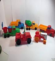 """Машина """"Денни мини грузовик №5"""", в сет. 17*7*6см, ТМ BAMSIC, произ-во Украина (28 шт/уп)(283)"""