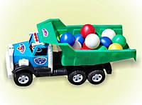 "Машина ""Фарго"", шарики мал., в сет. 54*23*18см, ТМ BAMSIC, произ-во Украина (3 шт/уп)(009/3)"