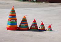 Пирамидка 5, 24 кольца, 1 метр, ТМ BAMSIC, произ-во Украина (4 шт/уп)(019/2)
