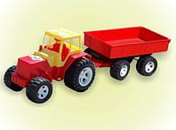 Трактор прицеп, в сетке 63*20см, ТМ BAMSIC, произ-во Украина (4 шт/уп)(007/4)