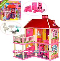Домик для кукол с мебелью 2 этажа 5 комнат 6980