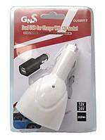 Зарядка - прикуриватель автомобильная USB  WF0098    .  f