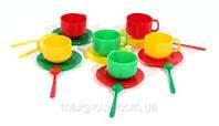 Посуда №1 (6 чашек, 6 блюд., 6 чайн., 6ложек ), в пак. 15*10см, произ-во Украина (48 шт.)(МГ-043)