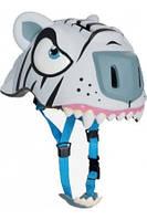 Защитный шлем Белый Тигр от Crazy Safety