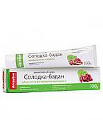 Зубная паста солодка-бадан, профилактика кариеса 100 мл