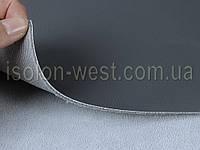 Авто кожзам темно-серый (графит), кожзаменитель на поролоновой подложке с сеткой