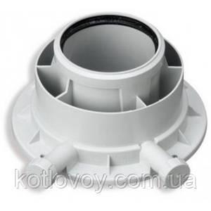 Адаптер для конденсационного котла Ø80/125 PP