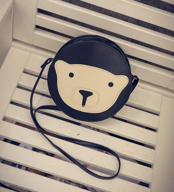Молодежная сумочка с мишкой