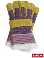 Перчатки спилковые утепленные REIS RSO