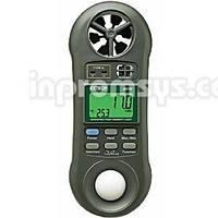 Анемометр/люксметр/термометр/влагомер Extech 45170 Мини термо-гигроанемометр с встроенной крыльчаткой