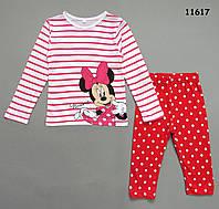 Пижама Minnie Mouse для девочки. 2, 3, 5, 6, 7 лет, фото 1