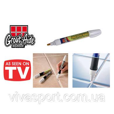 Карандаш для затирки плиточных швов Grout Aide & Tile Marker, затирщик Граут Эйд