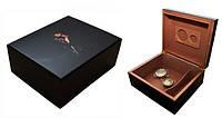 Хьюмидор для  25 сигар «Smoking Lady», Арт.0255800, черный