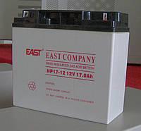 Аккумулятор EAST NP17-12  для UPS ибп