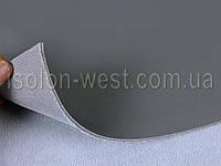 Авто кожзам серый, кожзаменитель на поролоновой подложке с сеткой, фото 1