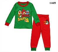 Пижама Angry Birds для мальчика.  2, 6 лет