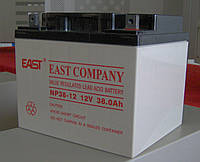 Аккумулятор EAST NP38-12  для UPS ибп