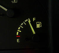 Вывод уровня газа на штатную приборную панель автомобиля