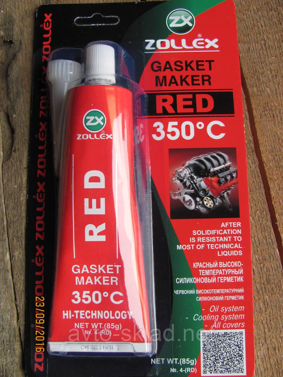 Герметик Zollex красный 85г