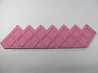 Штамп силиконовый бордюрный ромб