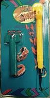 Крючек для плетения + министанок, под слюдой 19*10см(2537-20)