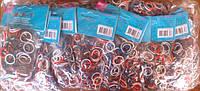Резиночки для плетения (600 рез.), цветные, крючек, в пак. 17*8см(6200/0843)