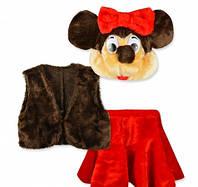 Детский карнавальный костюм Минни Маус