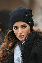 Красивая теплая шерстяная шапка от Kamea 2016 - Clarisa.