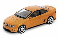 """Машина Welly, """"PONTIAC GTO RAM AIR 6 2005"""", метал., масштаб 1:24, в кор. 23*10*11см (6шт)(22468W)"""