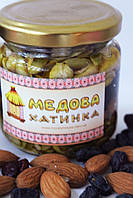 """Суміш з горіхів, сухофруктів та насіння, залита медом №1 ТМ """"Медова Хатинка"""", фото 1"""