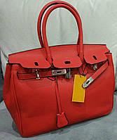 Сумка копия бренда качественная эко-кожа цвет красный