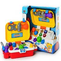 Говорящий чемоданчик с инструментами -  игрушка обучающий верстак