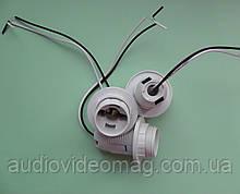 Патрон под плафон для ламп с цоколем Е14 с проводами