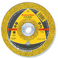 Круг зачистной по металлу Klingspor (Kronenflex) А60 EXTRA 125 x 6,0 x 22