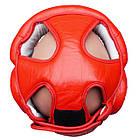 Шлем боксерский для тренировок FIREPOWER FPHG3 Red, фото 4
