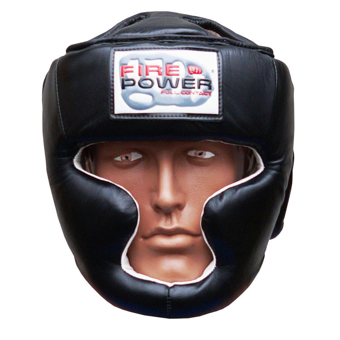Шлем боксерский для тренировок FIREPOWER FPHG3 Black