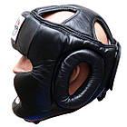 Шлем боксерский для тренировок FIREPOWER FPHG3 Black, фото 2