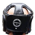 Шлем боксерский для тренировок FIREPOWER FPHG3 Black, фото 3