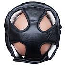 Шлем боксерский для тренировок FIREPOWER FPHG3 Black, фото 4
