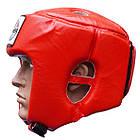 Шлем боксерский FIREPOWER FPHG2 Red, фото 2