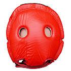 Шлем боксерский FIREPOWER FPHG2 Red, фото 4
