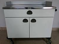 Столик тележка Ассистор для оборудования Анестезии BlancoMed Trolley for Anesthesia